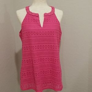 NWT Pappagallo pink top size M